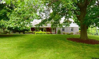 East Greenbush Single Family Home For Sale: 12 Thompson Hill Rd