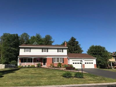 Clifton Park Single Family Home For Sale: 91 Appletree La