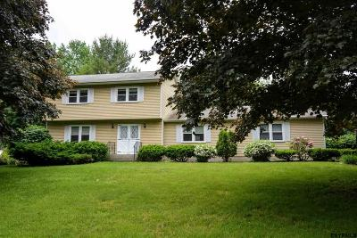 Niskayuna Single Family Home Price Change: 809 Westmoreland Dr