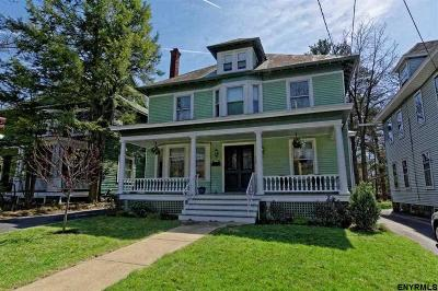 Schenectady Single Family Home For Sale: 1124 Rugby Rd