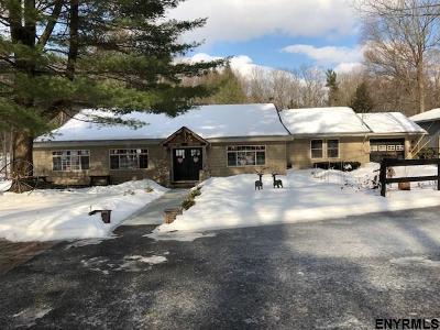 Saratoga County Single Family Home Price Change: 336 Charlton Rd