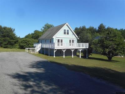 Saratoga County Single Family Home For Sale: 4565 Route 9n