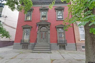 Schenectady Single Family Home For Sale: 113 Union St