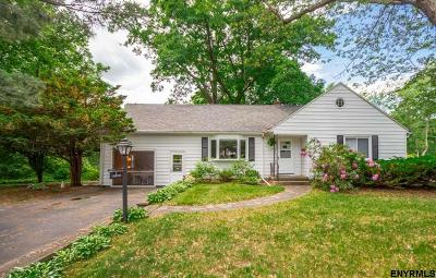 Colonie Single Family Home For Sale: 10 Brookwood Dr