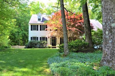 Clifton Park Single Family Home For Sale: 37 Castle Pines