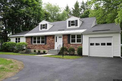 Voorheesville Single Family Home Price Change: 95 Maple Rd