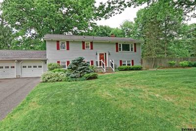 Clifton Park Single Family Home For Sale: 11 Chateau Dr