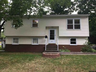 East Greenbush Single Family Home For Sale: 24 Electric Av