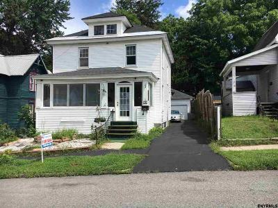 Gloversville NY Single Family Home For Sale: $64,900
