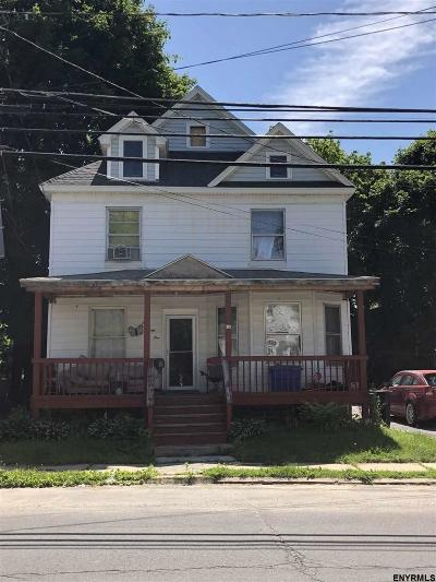 Amsterdam NY Single Family Home For Sale: $34,900