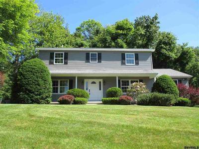 Clifton Park Single Family Home For Sale: 8 Via Da Vinci