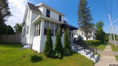Gloversville NY Single Family Home For Sale: $79,900