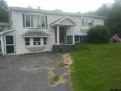 Schenectady County Single Family Home Price Change: 7618 Mariaville Rd