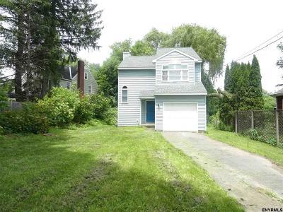 Single Family Home For Sale: 201 Krumkill Rd