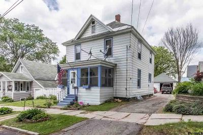 Gloversville NY Single Family Home For Sale: $80,000