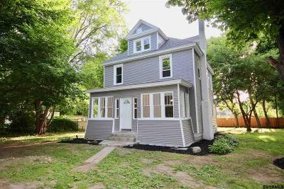 Niskayuna Single Family Home Price Change: 229 Fillmore Av