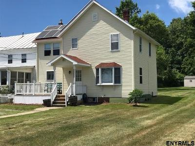 Saratoga County Single Family Home For Sale: 224 N Route 4