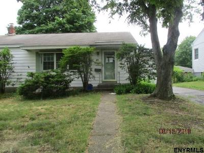 Albany Single Family Home For Sale: 48 Belvidere Av