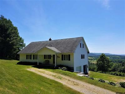 Rensselaer County Single Family Home For Sale: 190 Fords Rd