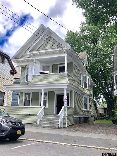 Albany Multi Family Home For Sale: 441 Hudson Av