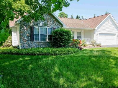 Clifton Park Single Family Home For Sale: 2 Glendale Dr