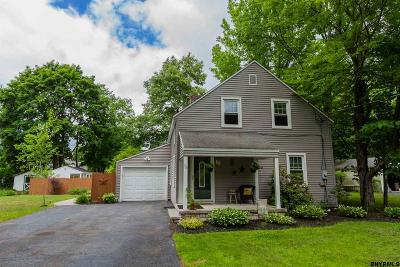 Glens Falls Single Family Home For Sale: 75 5th St