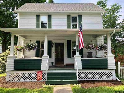 Rensselaer County Single Family Home For Sale: 1 Emily St