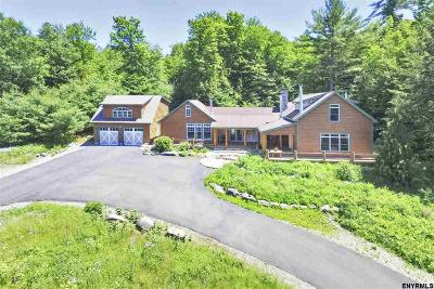 Saratoga County Single Family Home For Sale: 3432 South Shore Rd