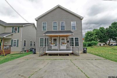 Saratoga County Single Family Home For Sale: 326 North 6th Av