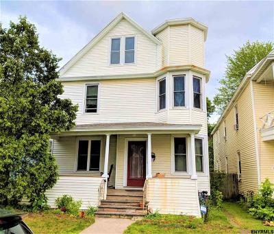 Rensselaer County Single Family Home For Sale: 188 6th Av