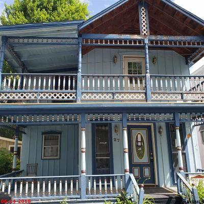 Saratoga County Single Family Home For Sale: 27 Albany Av