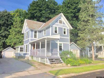 Glens Falls Single Family Home For Sale: 8 Davis St