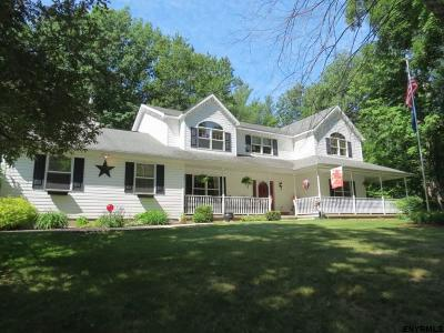 North Greenbush Single Family Home For Sale: 33 Heminway La