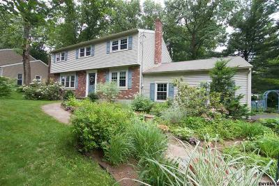 Saratoga County Single Family Home For Sale: 8 Canterbury Rd