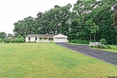 Clifton Park Single Family Home For Sale: 340 Vischer Ferry Rd
