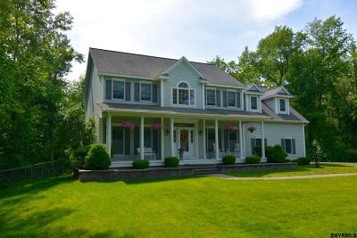 Saratoga County Single Family Home New: 203 Scotch Bush Rd