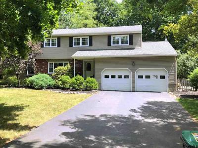 Saratoga County Single Family Home New: 12 Lexington Rd
