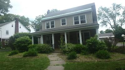 Schenectady Single Family Home New: 1224 Waverly Pl