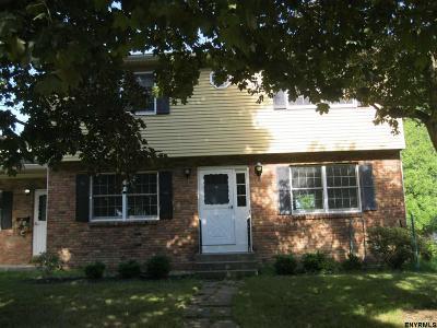 Bethlehem NY Single Family Home New: $289,900