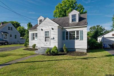 Rensselaer NY Single Family Home New: $184,900