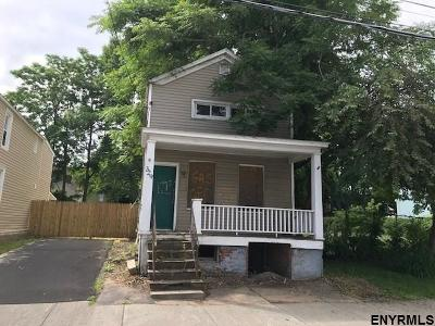 Schenectady Single Family Home New: 329 Hulett St