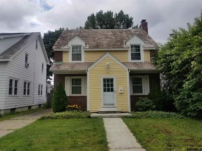 Albany Single Family Home New: 812 New Scotland Av
