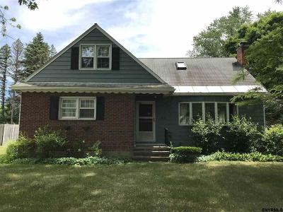 Saratoga County Single Family Home For Sale: 216 Stage Rd