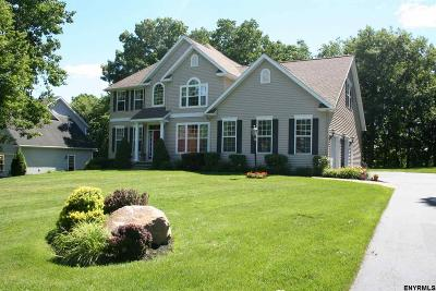 Saratoga County Single Family Home For Sale: 10 Towpath La