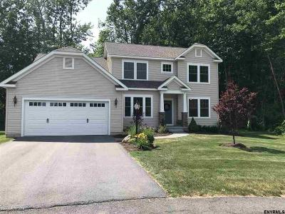 Saratoga County Single Family Home For Sale: 5 Larchwood La