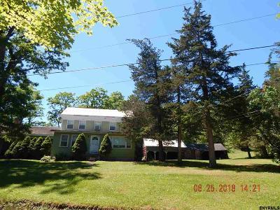 Rensselaer Single Family Home For Sale: 65 Burkhardt Rd