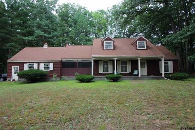 Saratoga County Single Family Home For Sale: 15 Pinewood La