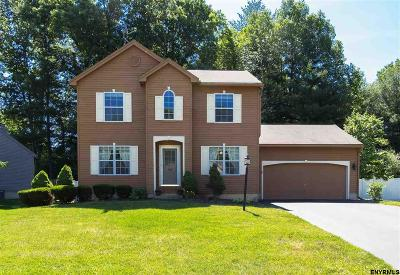 Clifton Park Single Family Home For Sale: 28 Commons Blvd