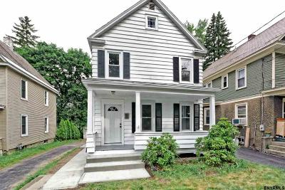 Niskayuna Single Family Home For Sale: 1057 Van Antwerp Rd