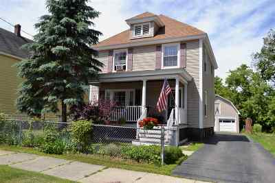 Gloversville NY Single Family Home For Sale: $85,300